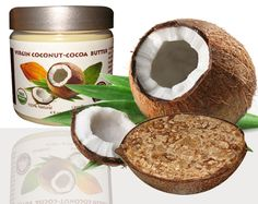 """Set of Luxuriously rich """"Coconut and Cocoa Butter"""" for your body and African Black Soap"""