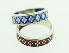 Silver Ukrainian Heritage Ring - Golden Lion Jewelry