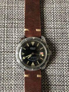 Servicing vintage watch