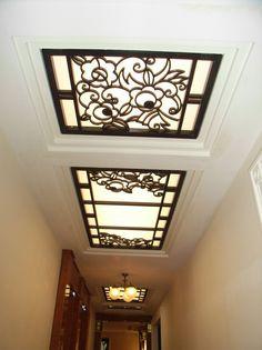 Streamline Moderne, Wrought Iron, Ceiling Lights, Lighting, Interior, House, Decoration, Home Decor, Art Deco