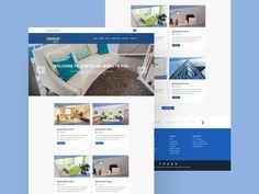 Property Website Template - http://freebiesjedi.com/2017/07/property-website-template/