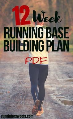 Download this FREE base building plan to increase your fitness and build stamina before starting a training plan. Start running for the first time or get back to running after taking time off with this base training plan! Use it as a running maintenance p Running Training Programs, Running Training Plan, Training For A 10k, Running Workouts, Running Tips, Running Schedule, Marathon Training For Beginners, Half Marathon Training Plan, Running For Beginners