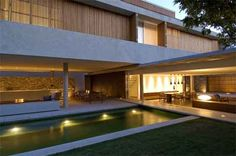 Open living space + pool = <3