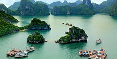 6. Ha Long Bay - Holiday cruises and deserted island beach resorts for backpackers