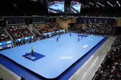 The inaugural game in Helsingborg Arena - Innebandymagazinet.se