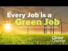 Career Opportunities in Sustainability #careers