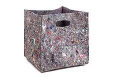 Big felt box felt storage box storage basket by GopherHandmade