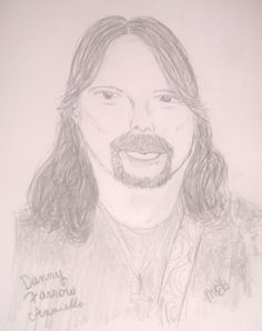 "My 1st sketch of Lords Of Mercy's Danny ""The Farrow"" Anniello."