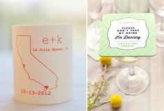Favorite Favors - The Dandelion Patch La Jolla Shores, Celebrate Good Times, Mod Wedding, Big Day, Dandelion, Favors, Patches, Wedding Inspiration, Place Card Holders