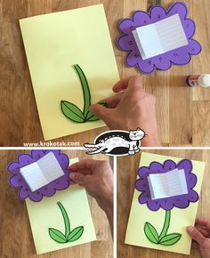 children activities, more than 2000 coloring pages Fall Paper Crafts, Easy Crafts, Biology Science Fair Projects, Blue Flower Wallpaper, Art For Kids, Crafts For Kids, Art Projects, Projects To Try, Ramadan Crafts