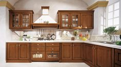 [hot Item] Antique Kitchen Cabinets Solid Wood Italian Kitchen Furniture images ideas from Kitchen Decoration Ideas Grey Kitchen Floor, Kitchen Flooring, Kitchen Countertops, Kitchen Furniture, Pallet Furniture, Craftsman Kitchen, Rustic Kitchen, Kitchen Decor, Kitchen Layout