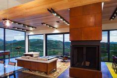 Gros Ventre Residence by Stephen Dynia