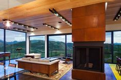 Gros Ventre Residence by Stephen Dynia