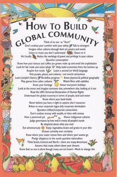 Go Global:  Global Connectedness and Global Citizenship Education
