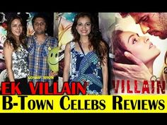 B-Town Celebs Review On Ek Villain