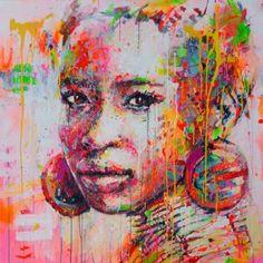 "Saatchi Art Artist Marta Zawadzka; Painting, ""AYOO"" #art"