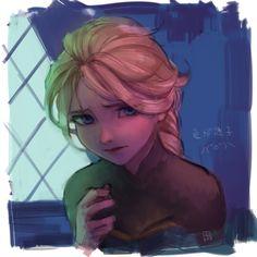 Elsa Arte Disney, Disney Fan Art, Disney Magic, Disney Films, Disney And Dreamworks, Disney Pixar, Disney Princess Frozen, Frozen Movie, Elsa Frozen