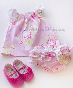 Baby Lily Nappy Cover and Shirt
