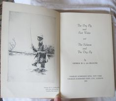 Vintage Fishing Book 1951 The Dry Fly and Fast Water by VistaChick