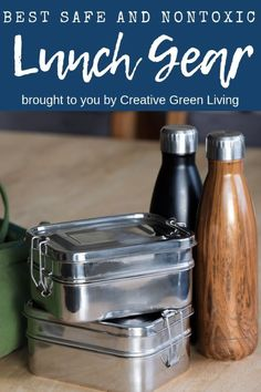 Best lunchboxes for kids, teens and adults! Bring your lunch to work or school in a nontoxic, reusable lunchbox using one of these healthy storage container options. School Lunch Containers, Lunch Boxes, Easy School Lunches, Insulated Lunch Box, Whats For Lunch, Cleaners Homemade, Cold Meals, Bento Box, Diy Cleaning Products