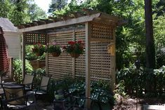 Privacy Fence Ideas Design Ideas, Pictures, Remodel, and Decor