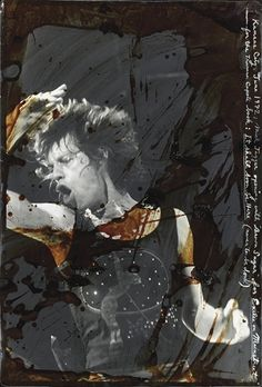 by Peter Beard, Mick Jagger, Fort Worth, Texas, 1972 Peter Beard, Draw On Photos, Great Photographers, African Animals, Mick Jagger, Memento Mori, Butterfly Wings, American Artists, Creative Photography