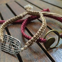 So as promised, here is another Macrame bracelet variation from my last post. This is very similar to the one found on Honestly WTF :) Tools: Instructions: There is one more variation coming that w...