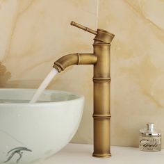 Free shipping antique brass basin tap Bathroom Brass Mixer Single handle Single hole Surface Mounted faucet  GZ-8024 #Affiliate