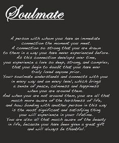 quotes about soulmates and death - Google Search