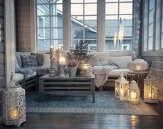the little book of secrets. Large Floor Lanterns, White Lanterns, Lanterns Decor, Home Living Room, Living Room Decor, Room Additions, Vintage Decor, Outdoor Furniture Sets, Sweet Home