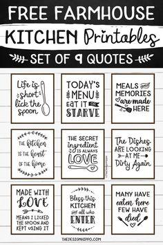 Kitchen Humor, Kitchen Signs, Kitchen Wall Art, Kitchen Wall Quotes, Kitchen Shelves, Farmhouse Kitchen Decor, Farmhouse Style, White Farmhouse, Rustic Style