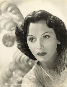 Hedy Lamarr in a 1940 MGM publicity still. Hollywood actress and one of the inventors of the idea of frequency hopping to avoid jamming in 1942. This served as the basis for spread spectrum communication technology such as Bluetooth.
