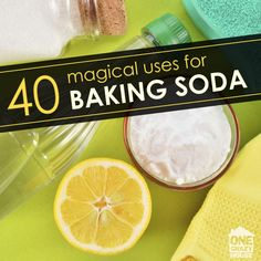 40 Magical Ways to Use Baking Soda That You Probably Didn't Know About
