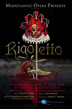 The second Poster Monday spot of the day belongs to William Haney, a graphic designer from New Jersey, United States for his poster The Curse of Rigoletto. This poster captures the mood of the trag…