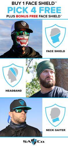 a312096e69fd Buy Get 4 Free Face Shields™ + Bonus Free Face Shield™