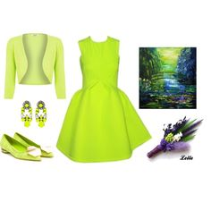 """""""Lime"""" by lellelelle on Polyvore"""