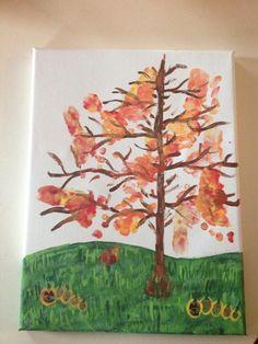 Fall footprint tree