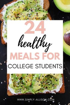 Wow I wish I had these college meal ideas when I was in the dorm rooms. Here is the healthiest college meals that is cheap and simple to make in your dorm room. Whether you're a vegetarian or just looking to eat healthier you would love these college meals that you could include in your college meal prep. #collegemeals #dormfood #healthycollegemeals Cheap College Meals, College Dorm Food, College Recipes, College Tips, Healthy Student Meals, Healthy College Snacks, Easy Meal Prep, Healthy Meal Prep, Healthy Recipes