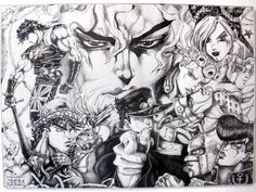JoJos Bizarre Adventure by ~HiroshiDavide on deviantART