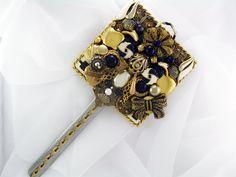 Recycled Shabby Chic Elegance - Repurposed Jewelry M000463