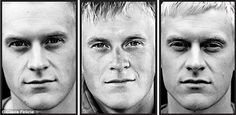 Dutch Marine before, during, and after deployment in Afghanistan.