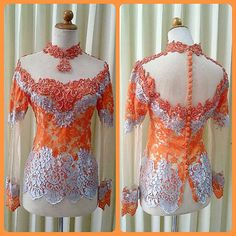 Kebaya modifikasi by Ethnique Kebaya Online