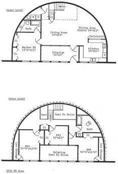 Monolithic dome home energy efficient fire proof rot for Earth contact house plans