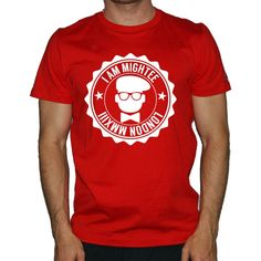 This is the 'Mightee logo seal red T-shirt tshirt' Tee Shirt only at Mightee.co.uk. The West London Tee shirt company #streetwear