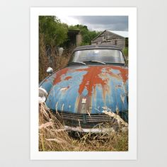 Once Loved Triumph Spitfire Art Print by SteveHphotos - $22.88