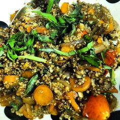 iFit: Balsamic Quinoa #Recipe