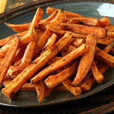 Oven-Roasted Sweet Potato Fries Recipe