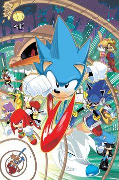 Incredible Sonic the Hedgehog art!
