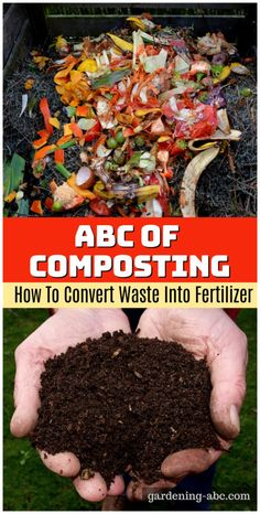 What is Compost: Learn The Basics of Home Composting in Two Minutes - Basics of home composting. Learn how to make compost from the start. Fall Vegetables, Organic Vegetables, Growing Vegetables, Gardening Vegetables, Growing Tomatoes, Organic Compost, Organic Fertilizer, Organic Gardening, Composting Process