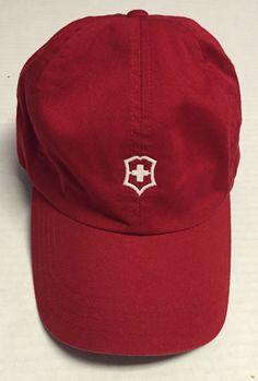 Victorinox Strapback Hat Red White Baseball Cap One Size Fits All    eBay  #VICTORINOX #SwissArmy #knife #hat #switzerland #swissarmyknife #baseballcap